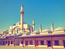 Mevlana museum mosque Stock Photography