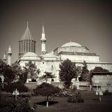 Mevlana museum mosque Stock Photo