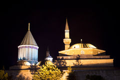Mevlana Museum (Night) Royalty Free Stock Image