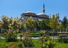 Mevlana Museum und Mausoleum bei Konya die Türkei Stockbilder