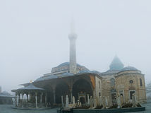 The Mevlana Museum in winter Royalty Free Stock Photo