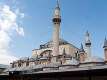 Mevlana museummoské i Konya Arkivbilder