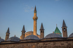 Mevlana's mausoleum Royalty Free Stock Photography