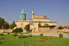 Mevlana's Tomb. The tomb of famous author and spiritual leader Rumi, also known as Mevlana in Konya, Turkey Royalty Free Stock Photography