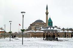 Mevlana - suficentrum in Konya royalty-vrije stock afbeeldingen