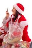Mevr. de Kerstman stock foto