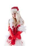 Mevr. de Kerstman royalty-vrije stock fotografie
