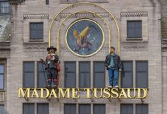 Mevrouw Tussaud Museum stock foto's