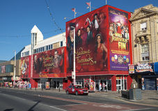 Mevrouw Tussauds Waxworks in Blackpooll Stock Foto