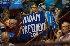 Mevrouw Voorzitter 2016 sig Stock Afbeelding