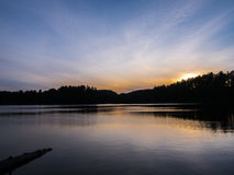 Mew Lake Snset Stock Images