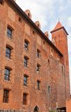 Mewe castle (XIV c.) of Teutonic Order. Gniew, Poland Royalty Free Stock Photos