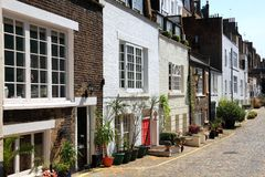 Mews houses Royalty Free Stock Image