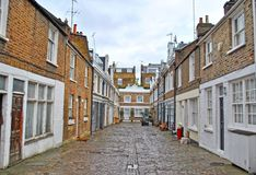 Mews in London, England Stock Photo