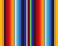 Mexicaans Algemeen Strepen Naadloos Vectorpatroon stock illustratie
