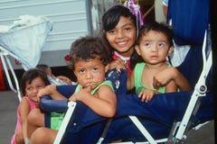 Mexicaans-Amerikaanse kinderen stock afbeelding