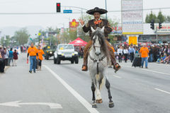 Mexicaans-Amerikaanse ruiter Royalty-vrije Stock Foto's