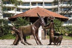 Mexicaans beeldhouwwerk Royalty-vrije Stock Afbeelding