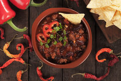 Mexicaans chili con carne royalty-vrije stock afbeelding