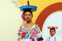 Mexicaans dansersportret Royalty-vrije Stock Afbeelding