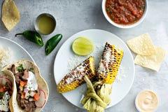Mexicaans geroosterd graan stock afbeelding