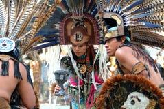 MEXICAANS INDISCH MEISJE Stock Fotografie