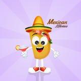 Mexicaans menu royalty-vrije illustratie