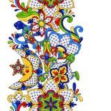 Mexicaans naadloos patroon royalty-vrije illustratie