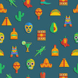 Mexicaans patroon stock illustratie