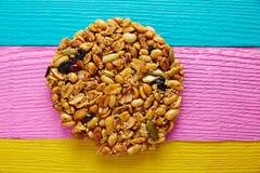 Mexicaans suikergoed zoete Palanqueta met pinda's royalty-vrije stock afbeelding