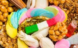 Mexicaans traditioneel artisanaal met de hand geproduceerd suikergoed royalty-vrije stock foto