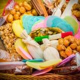 Mexicaans traditioneel artisanaal met de hand geproduceerd suikergoed royalty-vrije stock fotografie