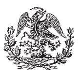 Mexicaans wapenschild royalty-vrije stock foto's