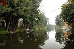 Mexicaans waterdistrict van Xochimilco Royalty-vrije Stock Foto's