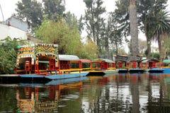 Mexicaans waterdistrict van Xochimilco Royalty-vrije Stock Fotografie