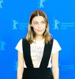 Mexicaanse actrice Ilse Salas in Berlinale 2018 royalty-vrije stock foto
