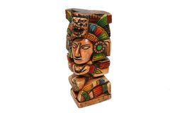 Mexicaanse Azteekse Indiër Royalty-vrije Stock Foto