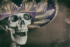 Mexicaanse Bandiet Skeleton Stock Foto's