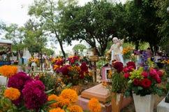 Mexicaanse begraafplaats Stock Foto's