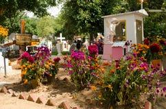 Mexicaanse begraafplaats Stock Fotografie
