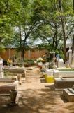 Mexicaanse begraafplaats Royalty-vrije Stock Fotografie