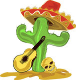 Mexicaanse cactus Stock Fotografie