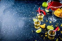 Mexicaanse cocktail voor Cinco de Mayo stock foto's