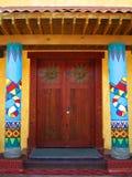 Mexicaanse deuren Royalty-vrije Stock Foto's