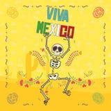 Mexicaanse Elementen Stock Afbeelding