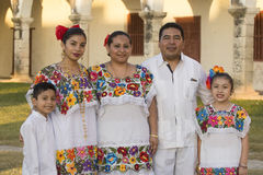 Mexicaanse Familie Stock Foto