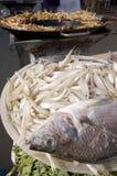 Mexicaanse gebraden vissen Stock Afbeeldingen