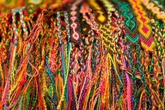 Mexicaanse Geweven Armbanden Stock Afbeeldingen
