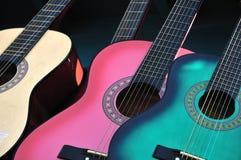 Mexicaanse gitaren Stock Foto's