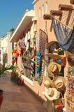 Mexicaanse goederen op vertoning voor verkoop Stock Afbeelding